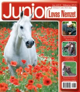 Junior Lovas Nemzet - májusi címlap