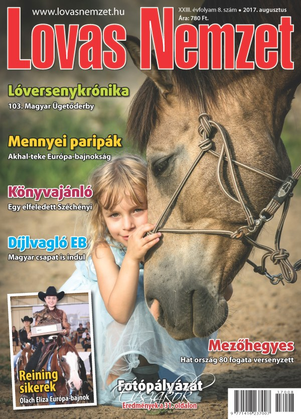 Augusztusi lapszámunk címlapja