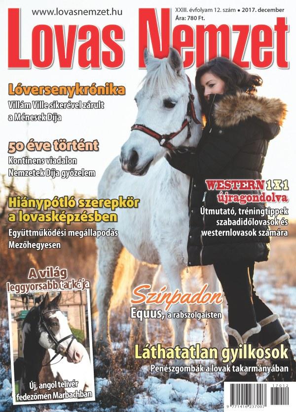 Decemberi lapszámunk címlapja